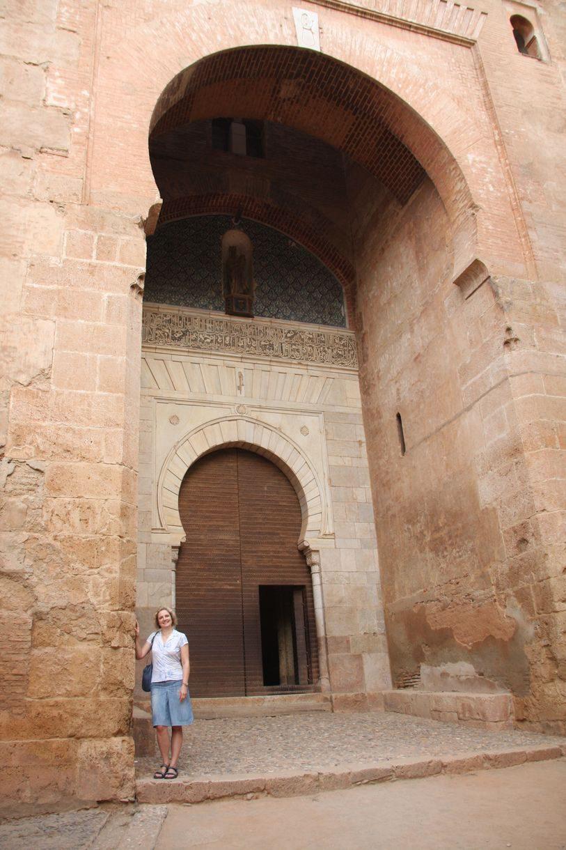 Granada - Alhambra - Puerta de la Justicia